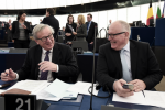 European-Commission-President-Jean-Claude-Juncker-speaks-with-First-Vice-President-of-the-European-Commission-Frans-Timmermans-Getty-640x480